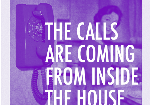 THE CALLS ARE COMING FROM INSIDE THE HOUSE — Jon Dieringer